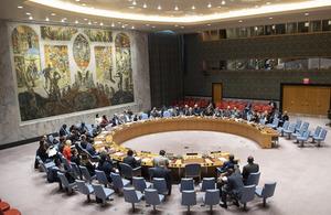 UN Security Council briefing on Sudan and South Sudan (UN Photo)