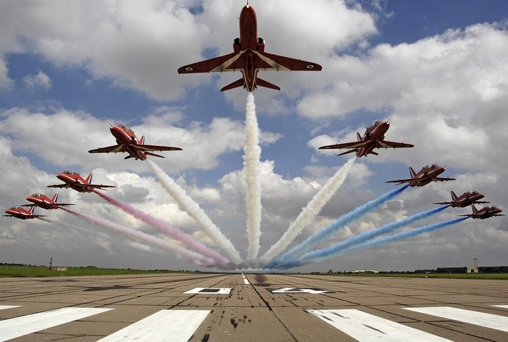 The Red Arrows will tour the USA and Canada