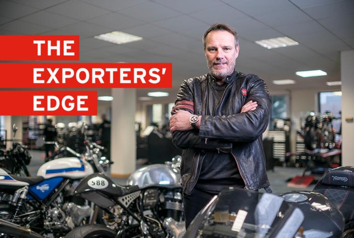 Get the Exporters' Edge: Stuart Garner, Norton Motorcycles