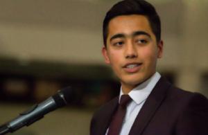 APS attack survivor Ahmad Nawaz awarded Points of Light Award
