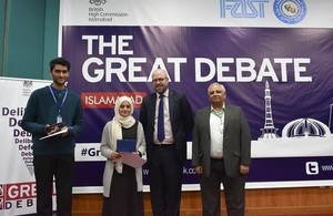 British High Commission brings the GREAT Debate to Islamabad