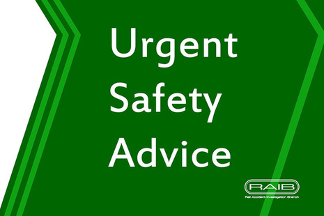 Urgent Safety Advice