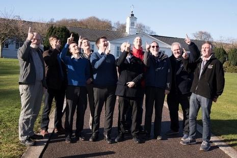 Basingstoke Astronomical Society visit Dstl