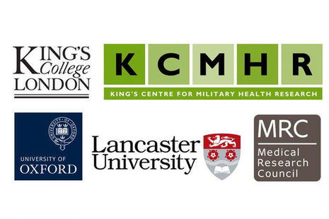Logos, Copyright kings College London, KCMHR, University of Oxford, Lancaster University and the Medical Research Council, All rights reserved