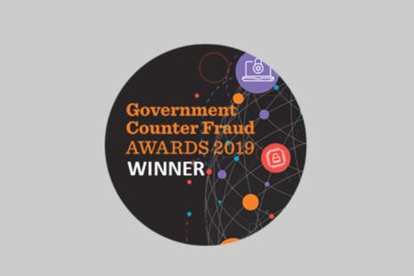 Charity Fraud Awareness Week award winner badge