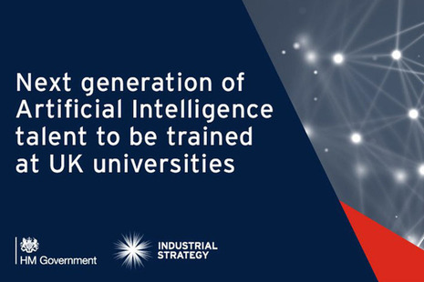 Next generation of Artificial Intelligence talent to be trained at UK universities