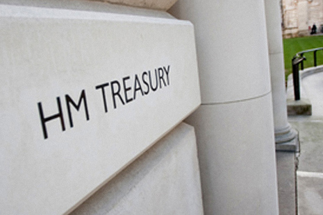 HM Treasury plaque