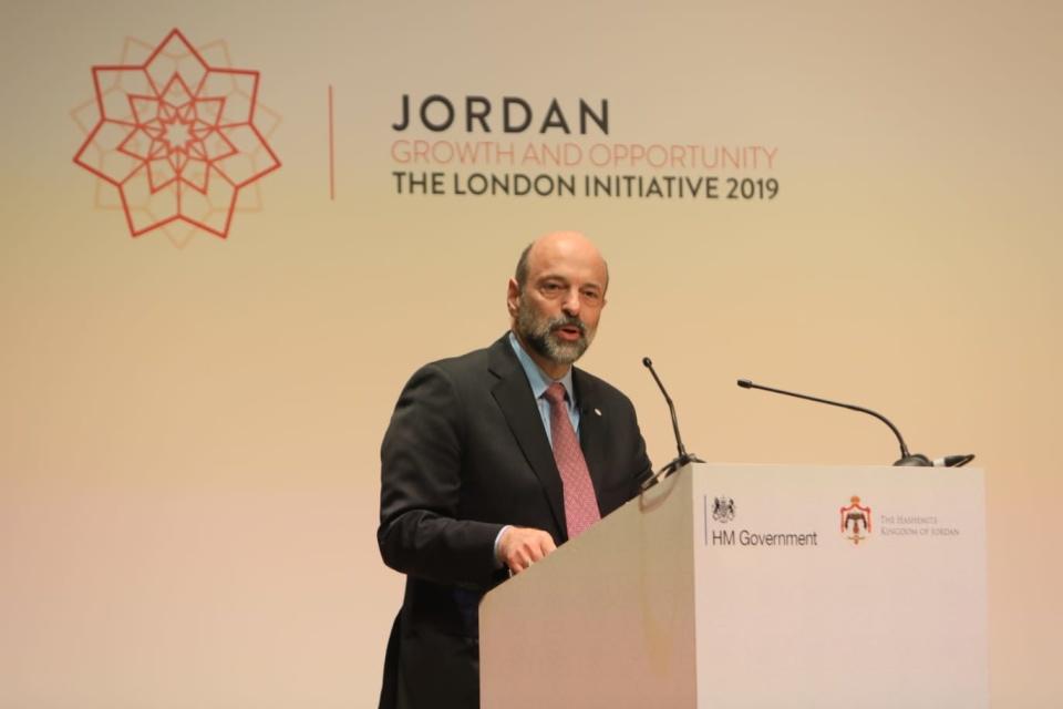 His Excellency Omar Razzaz, Prime Minister of Jordan