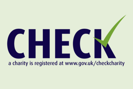 Check a charity is registered