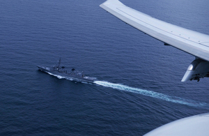 HMS Montrose joined trilateral exercises with Japan and US
