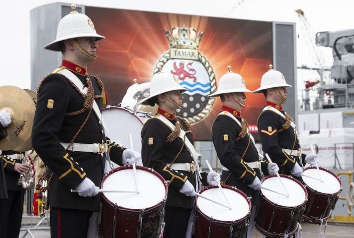 Naming of HMS Tamar
