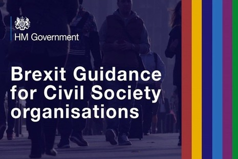HM Government Brexit guidance for civil society organisations