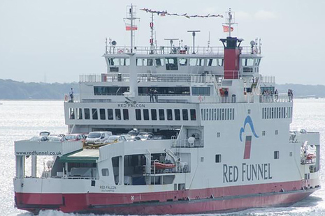 Red Falcon (Image courtesy of Marine Traffic/Phil Rowley)