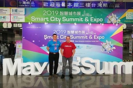 AMPLYFI at Taipei Expo