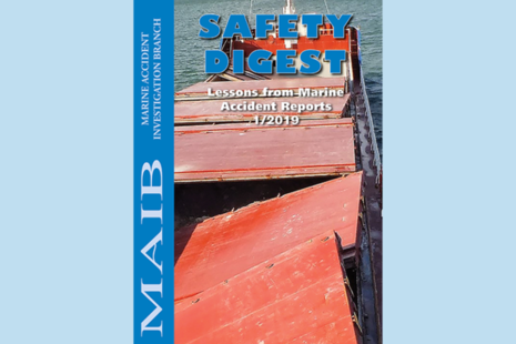 Front Cover for MAIB Safety Digest 1/19