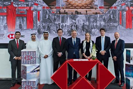 The Baroness visiting Dubai