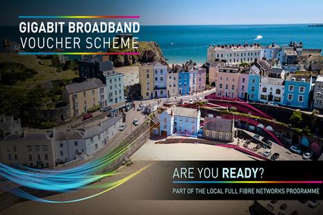 Gigabit broadband voucher scheme camnpaign