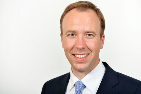 Secretary of State for Health and Social Care Matt Hancock