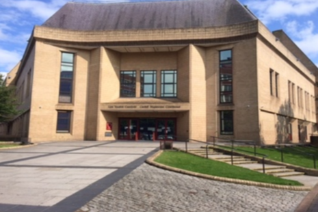 Photograph of Cardiff Magistrates' Court building