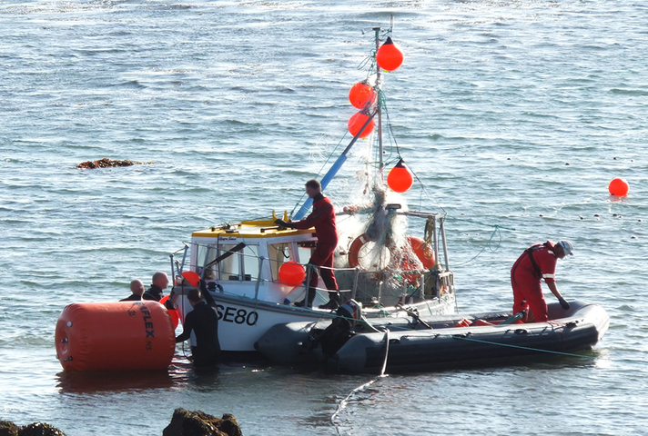 Recovery of fishing vessel Laura Jane