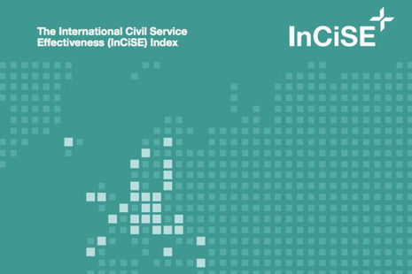 Detail from front cover of International Civil Service Effectiveness (InCiSE) Index 2019