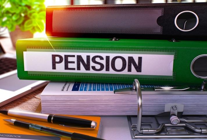Pension Green Office Folder