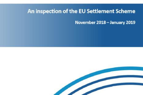 EU Settlement Scheme report cover