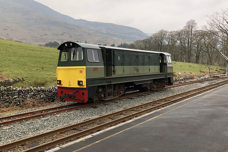 'Vale of Ffestiniog' locomotive involved in the incident at Beddgelert station