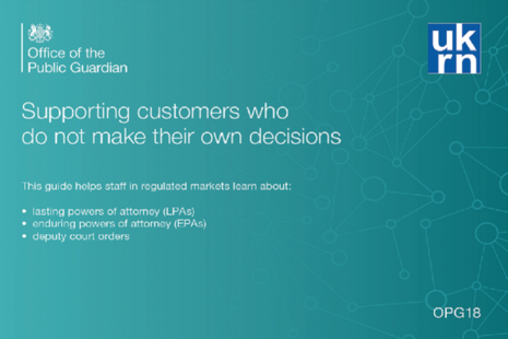 Cover image of supporting customers who do not make their own decisions