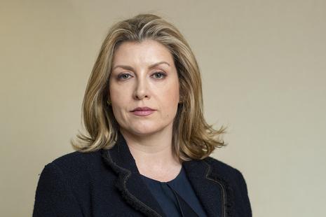 Defence Secretary Penny Mordaunt