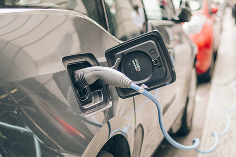 ULEV car and chargepoint