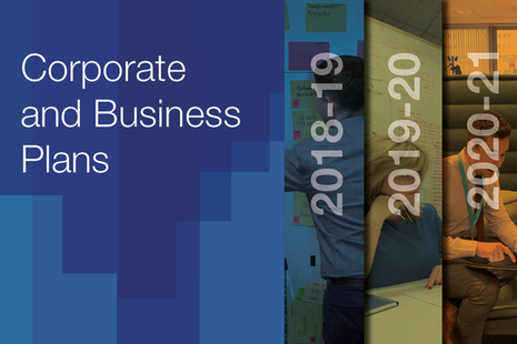 Image of: front cover of student loans company business plan