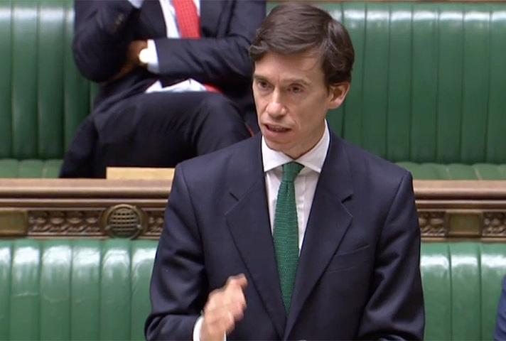 Rory Stewart speaking in Parliament