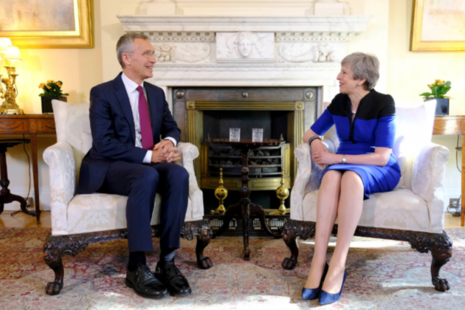 PM meets NATO Secretary General.
