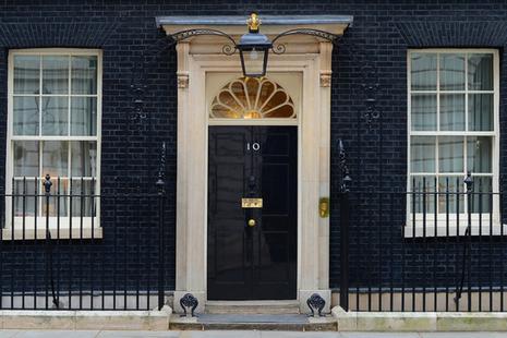 No10 door