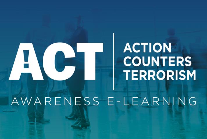 Top international award for ACT Awareness e-Learning