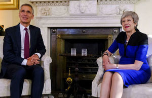 PM meeting with NATO Secretary General Jens Stoltenberg: 14 May 2019