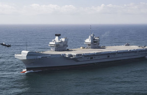 HMS Queen Elizabeth to join NATO rapid reaction force
