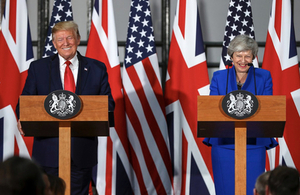 Prime Minister May and President Trump press conference