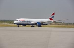 British Airways touches down in Islamabad