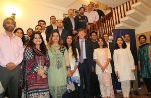 British Deputy High Commissioner celebrates Ramazan with Chevening alumni in Islamabad