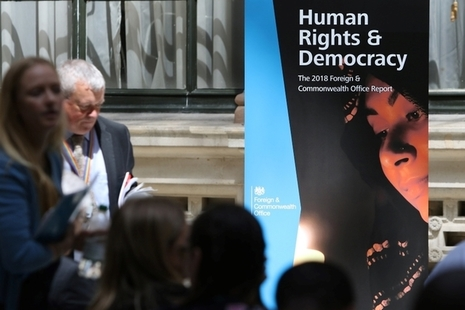 Launch of FCO 2018 Human Rights and Democracy Report
