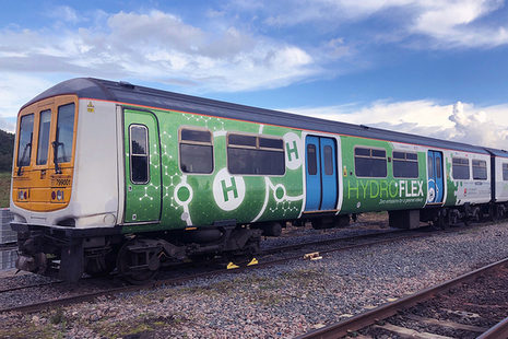Hydrogen powered train