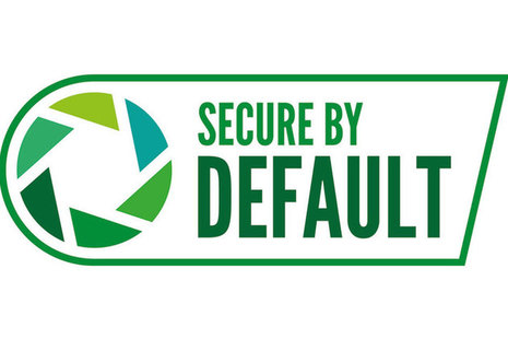 Secure by default logo