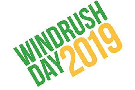 Windrush Day 2019 logo