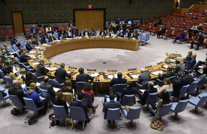 Security Council on Syria