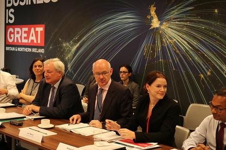 Sir Stephen O'Brien at DIT Board meeting