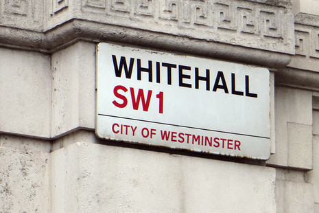 Sign for Whitehall