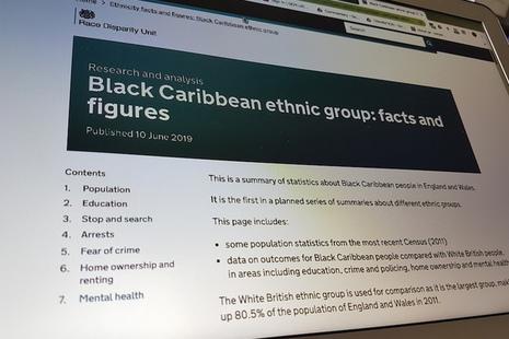 Race Disparity Unit - GOV UK