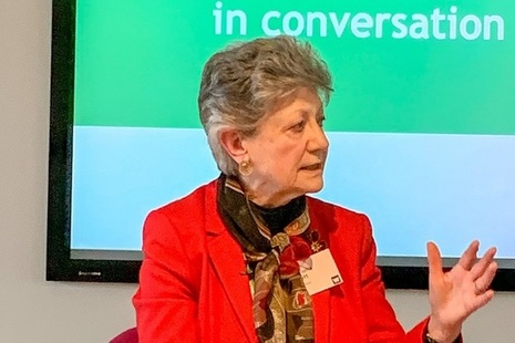 Dame Fiona Caldicott, the National Data Guardian for Health and Social Care